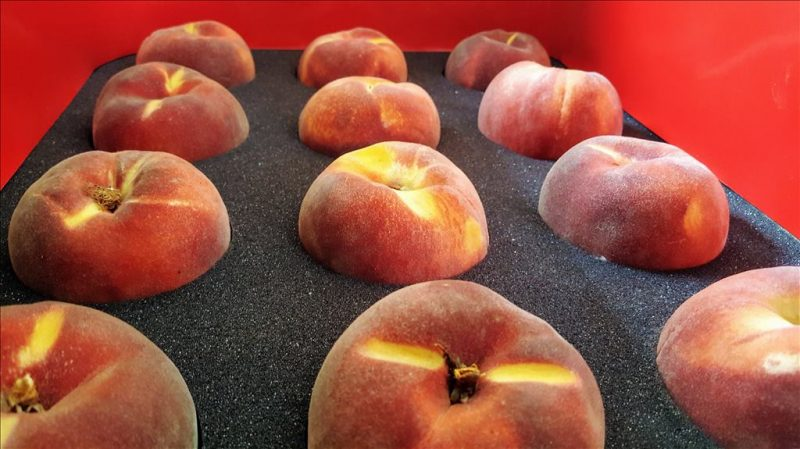 One Dozen Peaches to AR, CA, IA, MN, MO, MT, NE, OR, WA, or WI